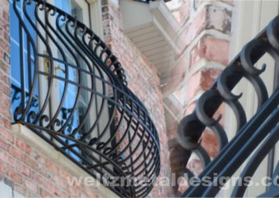1 Balcony Guardrails by Weltz Custom Metal Designs