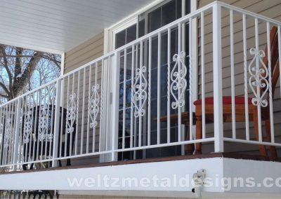 3 Balcony Guardrails by Weltz Custom Metal Designs