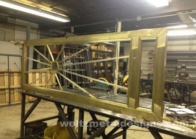 Door frames by Weltz Custom Metal Designs 2