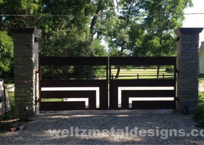 Gates by Weltz Custom Metal Designs 1
