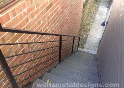 Metal stairs and staircases by Weltz Custom Metal Designs 1