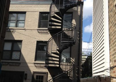 Metal stairs and staircases by Weltz Custom Metal Designs 2