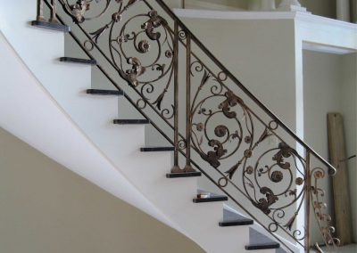 Ornamental metal railings by Weltz Custom Metal Designs 1