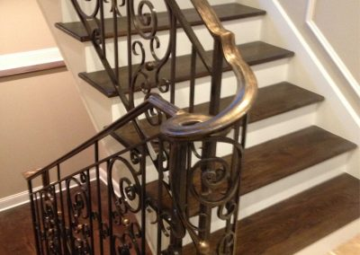 Ornamental metal railings by Weltz Custom Metal Designs 10