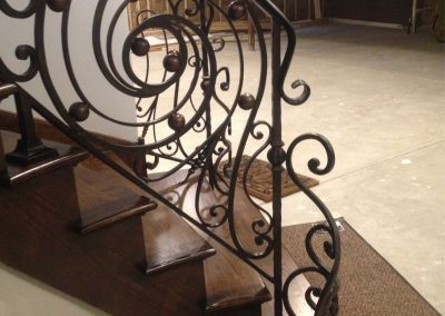 Ornamental metal railings by Weltz Custom Metal Designs 12