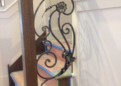 Ornamental metal railings by Weltz Custom Metal Designs 13