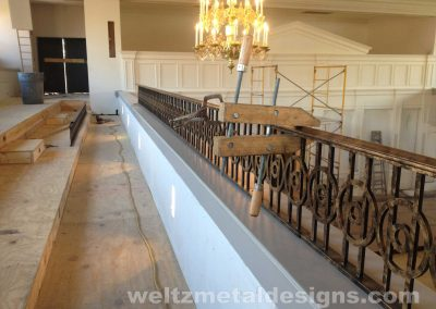 Ornamental metal railings by Weltz Custom Metal Designs 14