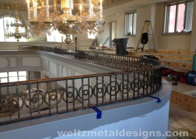 Ornamental metal railings by Weltz Custom Metal Designs 15