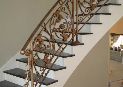 Ornamental metal railings by Weltz Custom Metal Designs 3