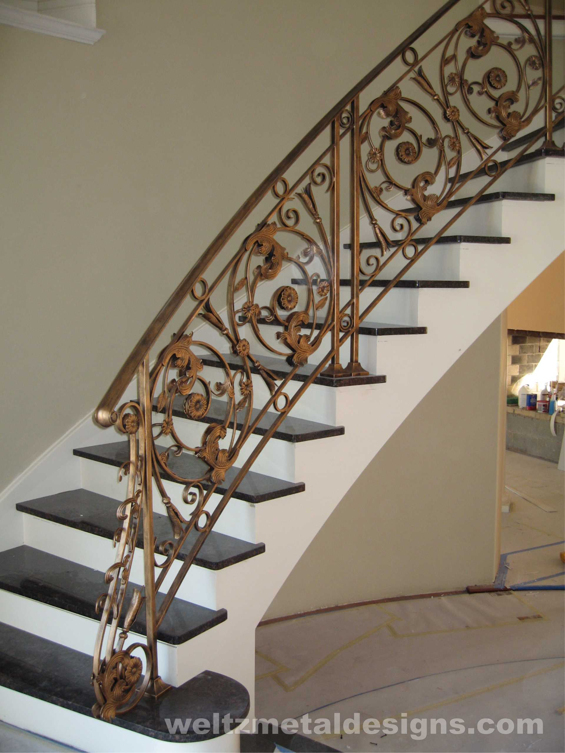 Interior Stairs Railings and Guardrails, Ornamental Style