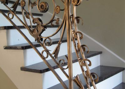 Ornamental metal railings by Weltz Custom Metal Designs 4