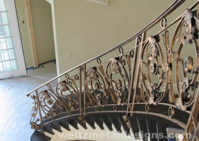 Ornamental metal railings by Weltz Custom Metal Designs 5