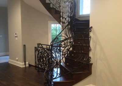 Ornamental metal railings by Weltz Custom Metal Designs 6