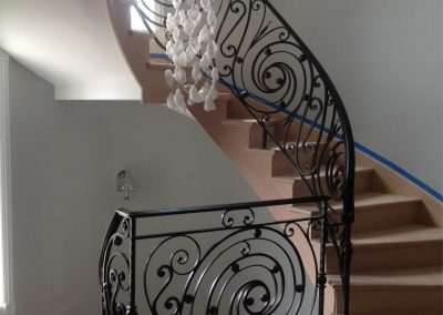 Ornamental metal railings by Weltz Custom Metal Designs 7
