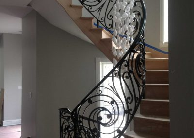 Ornamental metal railings by Weltz Custom Metal Designs 8