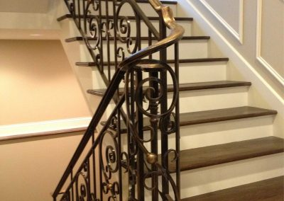Ornamental metal railings by Weltz Custom Metal Designs 9