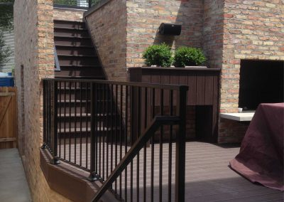 Patio, deck railings and guardrails by Weltz Custom Metal Designs 1