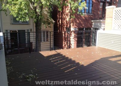 Patio, deck railings and guardrails by Weltz Custom Metal Designs 10