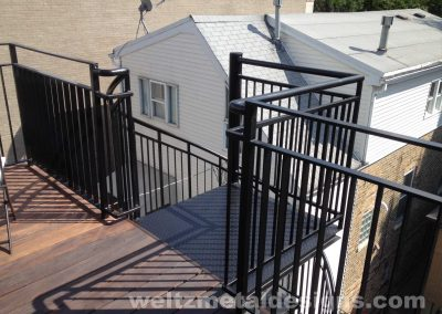 Patio, deck railings and guardrails by Weltz Custom Metal Designs 7