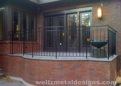 Patio, deck railings and guardrails by Weltz Custom Metal Designs 8