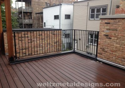 Patio, deck railings and guardrails by Weltz Custom Metal Designs 9