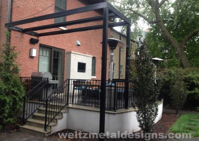 Pergolas by Weltz Custom Metal Designs 1