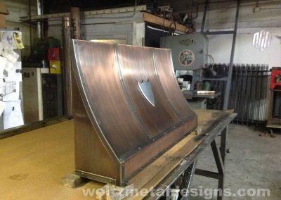 Range Hoods by Weltz Custom Metal Designs 1