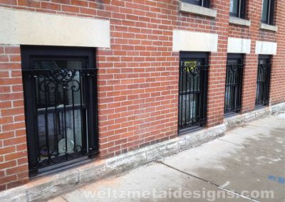 Window grates and Guards by Weltz Custom Metal Designs 1